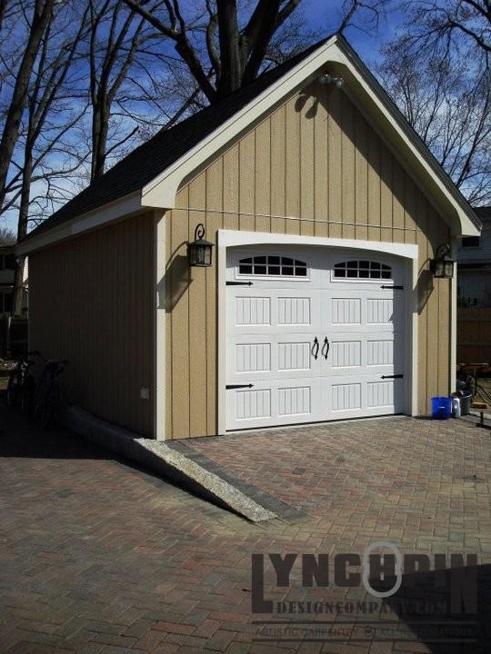 Small garage big detail lynchpin design company for Small house big garage